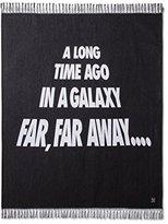 "Star Wars Galaxy Black Throw Blanket (50""x60"")"