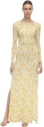 Eivissa Stretch Jersey Long Dress