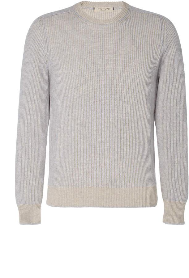 Fioroni Rib-Knit Wool-Blend Sweater