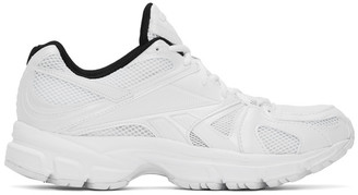 Vetements White Reebok Edition Runner 200 Sneakers