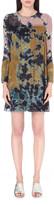 Raquel Allegra Tie-dye silk dress