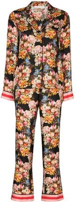 Borgo de Nor Eden floral-print two-piece pyjamas