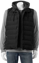 Chaps Men's Hooded Puffer Vest