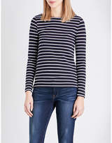 French Connection Tim Tim stretch-cotton top
