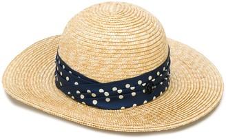 Maison Michel Straw Sun Hat