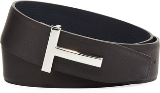 Tom Ford T-Buckle Reversible Leather Belt