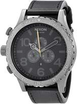 Nixon Men's A124680 51-30 Chrono Leather Watch