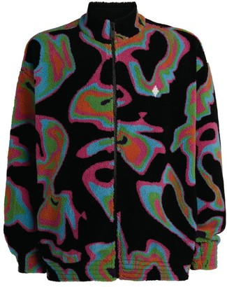 Marcelo Burlon County of Milan Psychedelic Print Fleece Jacket
