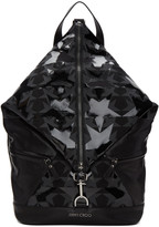 Jimmy Choo Black Fitzroy Stars Backpack