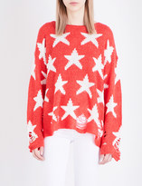 Wildfox Couture Seeing Stars Lenon knitted jumper