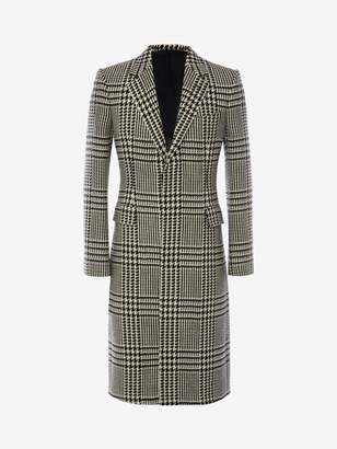 Alexander McQueen Exploded Dogtooth Coat