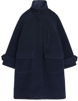 Arket A-Line Wool Coat
