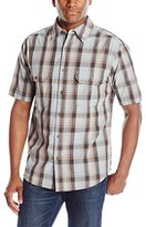 Woolrich Men's Midway Yarn Dye Short Sleeve Shirt
