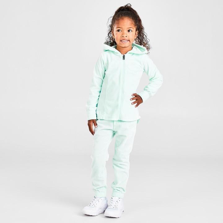 Nike Girls' Toddler Velour Full-Zip Hoodie and Jogger Pants Set