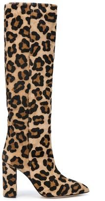 Paris Texas Leopard Print Boots