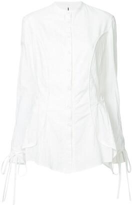 Masnada tied sleeve long shirt