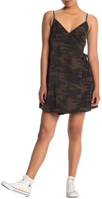 Sanctuary Wrap It Up Mini Dress (Regular & Petite)