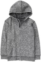 Crazy 8 Zipper Fleece Hoodie