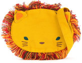 Familiar lion motif shoulder bag - kids - Cotton - One Size