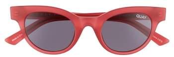 Quay Women's #quayxkylie Starstruck 48Mm Cat Eye Sunglasses - Olive Smoke