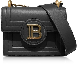 Balmain Black Leather 18 B-Bag