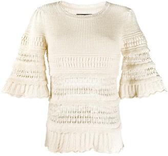 Isabel Marant Friza crochet-knit jumper