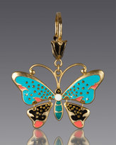 Jay Strongwater Butterfly Key Chain