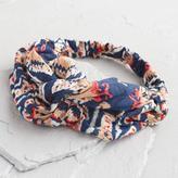 World Market Navy and Orange Headband