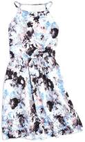 Aqua Girls' Floral Print Dress, Sizes S-XL - 100% Exclusive