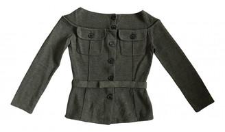Christian Dior Khaki Wool Knitwear