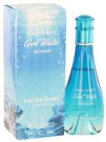 Davidoff Cool Water Into The Ocean by Eau De Toilette Spray 100 ml for Women