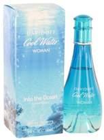 Davidoff Cool Water Into The Ocean by Eau De Toilette Spray 3.4 oz