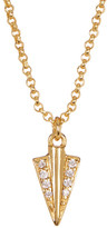 Botkier Crystal Dagger Necklace