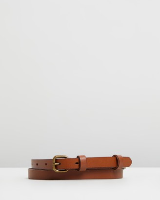 Status Anxiety Only Lovers Left Leather Belt
