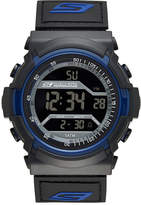Skechers Performance Mens Sport Digital Chronograph Watch with Negative Display