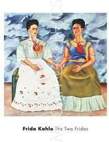 "McGaw Graphics The Two Fridas, 1939 by Frida Kahlo, Art Print Poster, Paper Size 20"" x 22"" Image Size 16"" x 16"""