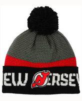 Reebok New Jersey Devils Pom Knit Hat