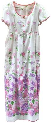 Non Signã© / Unsigned Hippie Chic White Cotton Dresses