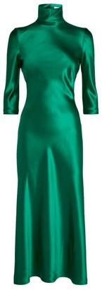 Galvan Margot High Neck Dress