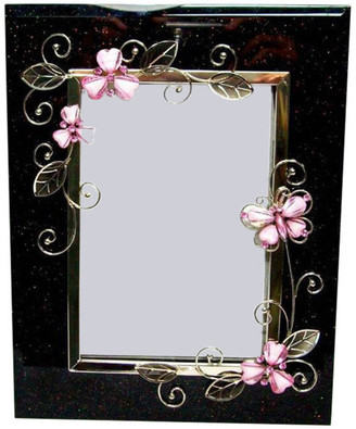 """Elégance Pink Butterfly 5""""x7"""" Frame"""