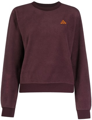 Nike Embroidered Logo Fleece Sweatshirt