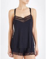 Hanro Eleonora jersey pyjama set