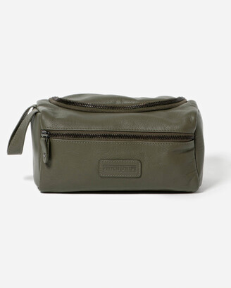Stitch & Hide - Women's Green Toiletry bags - Jett Toiletry Bag - Size One Size at The Iconic