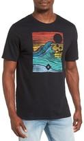 Hurley Men's Tropic Target Graphic T-Shirt