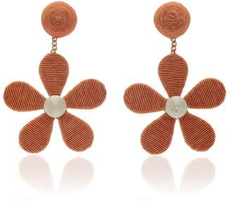 Rebecca De Ravenel daisy cord slip earrings