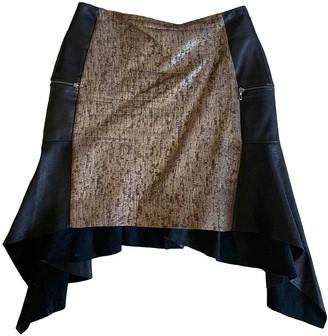 Willow Multicolour Leather Skirt for Women