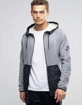 Nike International Windbreaker Jacket In Grey 802480-091