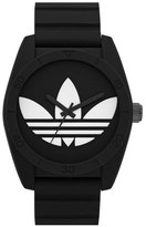adidas 'Santiago' Silicone Strap Watch, 42Mm