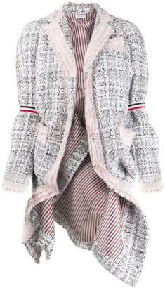 Thom Browne Oversized Tweed Jacket