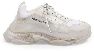 Balenciaga Triple S Clear Sole Sneakers